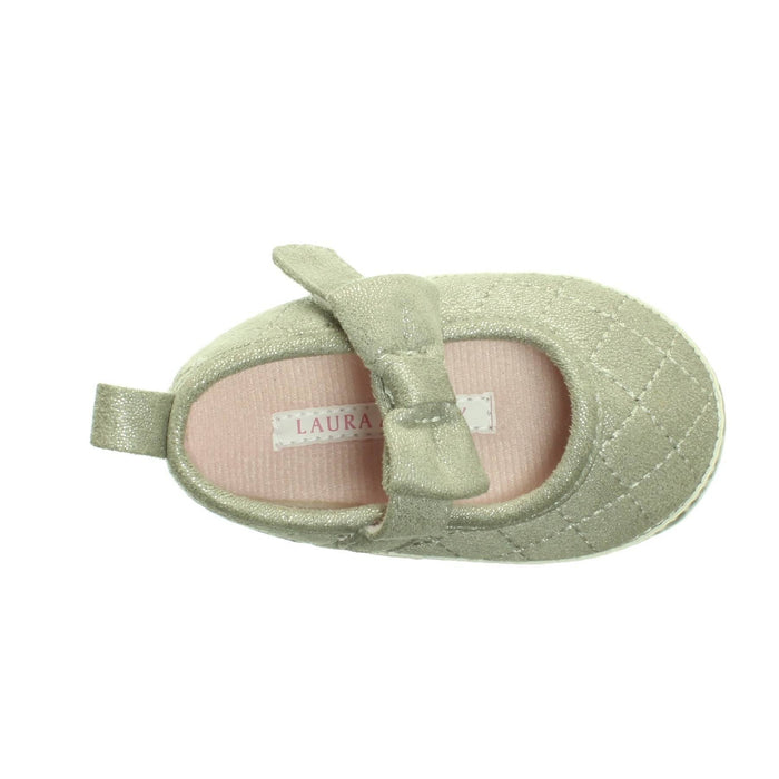 BABY GIRLS SILVER SHOES (Size 3) - Cibigi