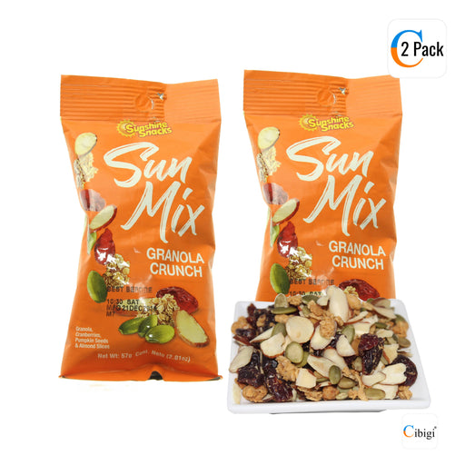 Sun Mix Granola Crunch, Great Source of Fibre