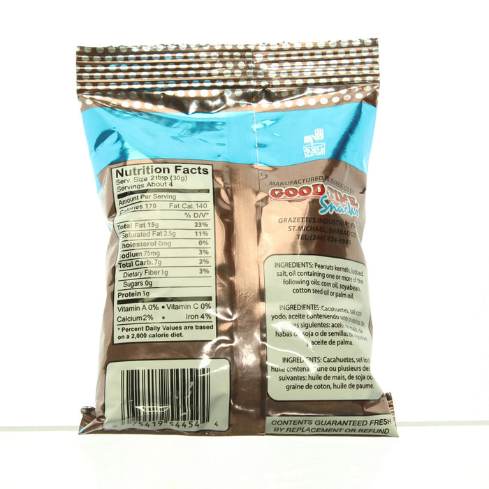 Unsalted Peanuts ((114g)