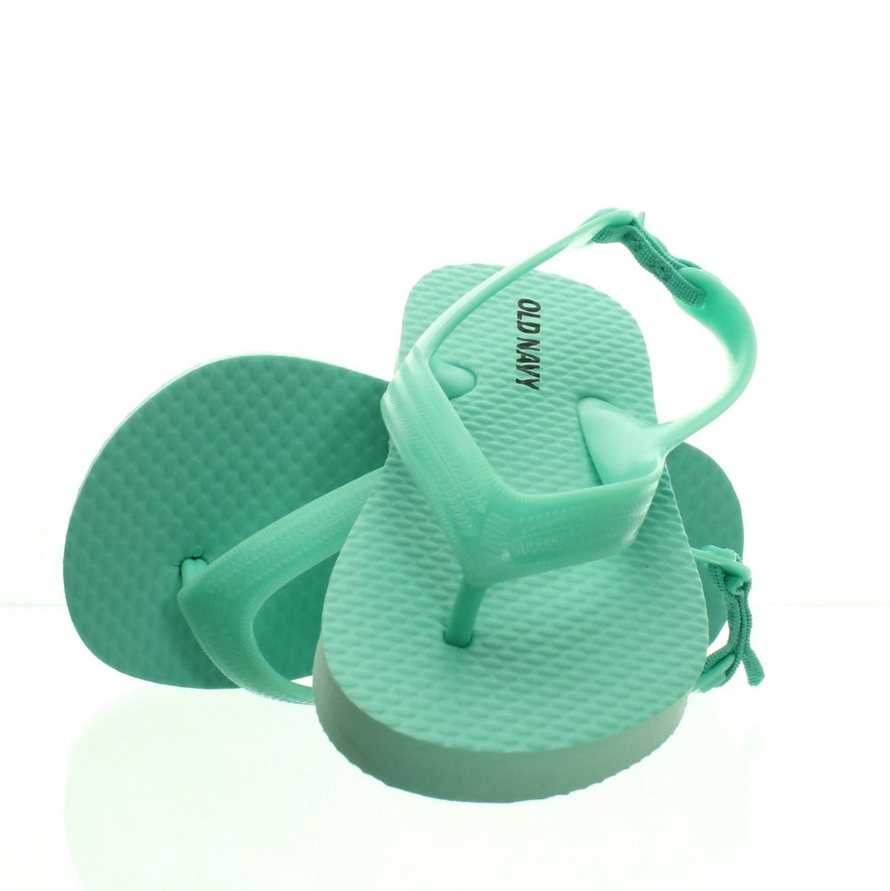 GREEN BABY SLIPPER SANDALS (Size 6) - Cibigi