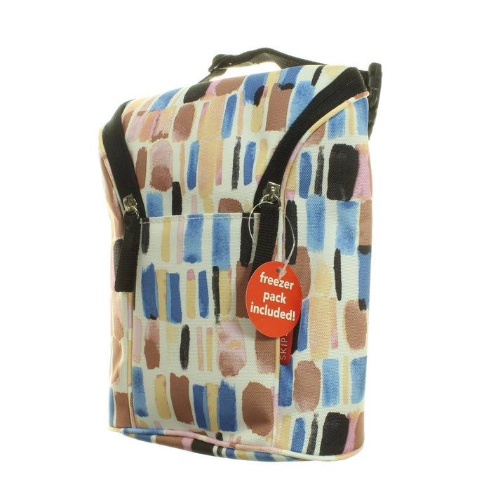 BRUSH STROKE DOUBLE BOTTLE BAG - Cibigi