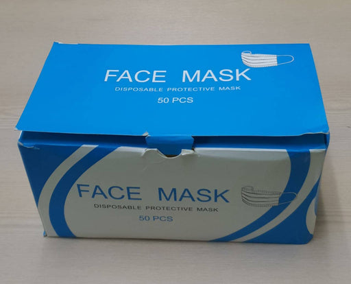 Disposable Protective Face Masks (Ct50)