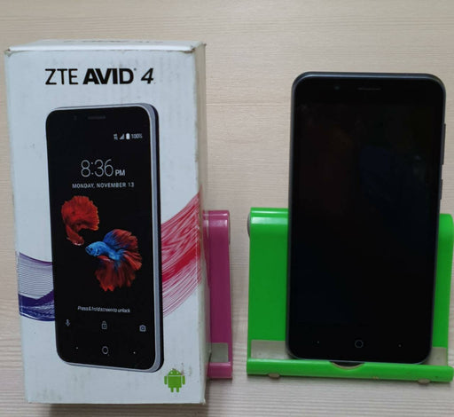 "ZTE AVID 4 Smartphone, 5"", GSM/LTE, Snapdragon 210, 8MP Camera, 16GB"