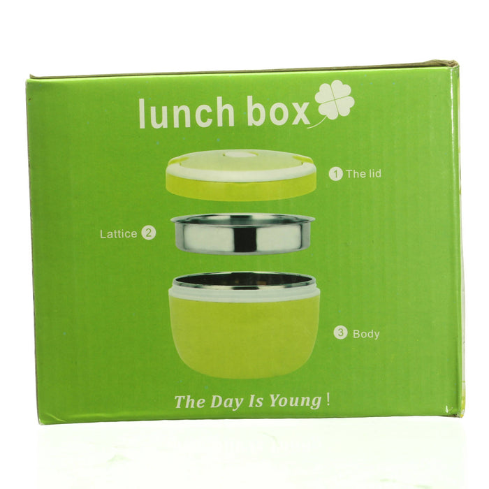 2-Tiered Lunch Box, BPA Free Portable Food Container - Cibigi