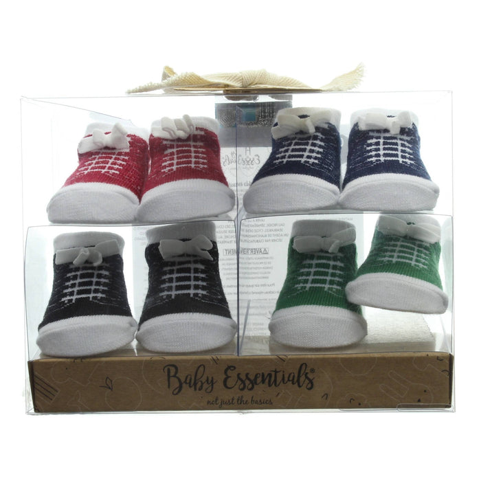 BABY ESSENTIALS-4PC BOYS SOCKS GIFT SET - Cibigi