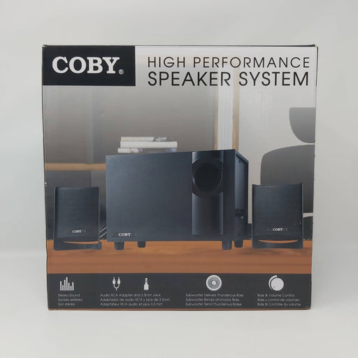 COBY High Performance Speaker System