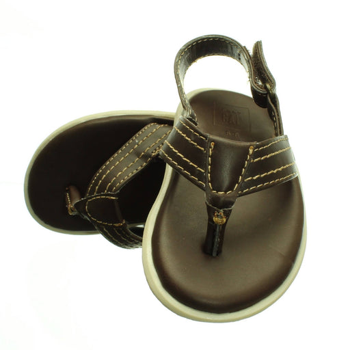 BABY BOYS BROWN SANDALS (Size 5 & 2) - Cibigi