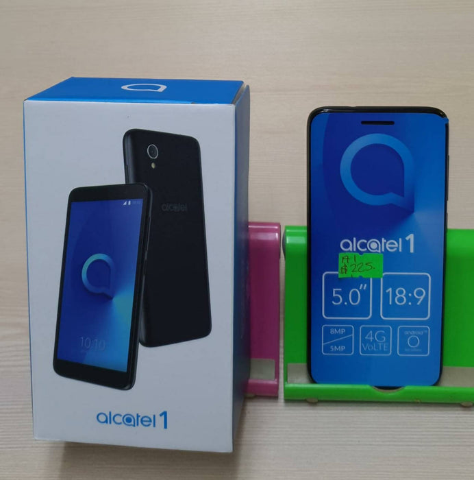 "Alcatel1 5"" Smartphone, GSM/LTE, Android Oreo, Front Camera 2MP, Rear Camera 5MP, 8GB"