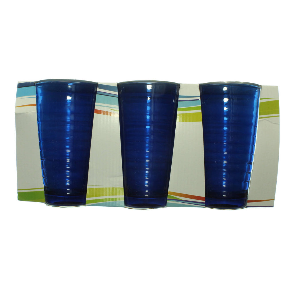 Cobalt blue water glass - Cibigi