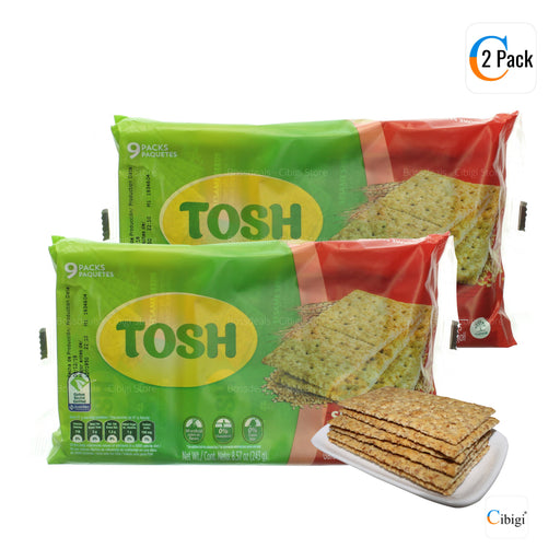 Bran and Sesame Crackers, Wholegrain