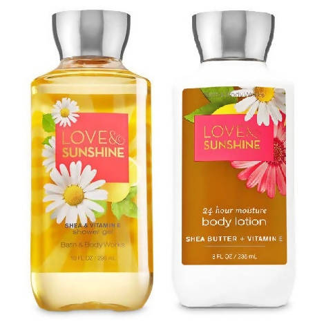 Love & Sunshine - Shower Gel & Lotion