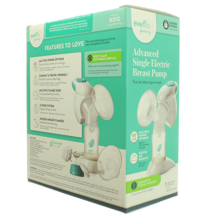 ADVANCED SINGLE ELECTRIC BREAST PUMP - Cibigi