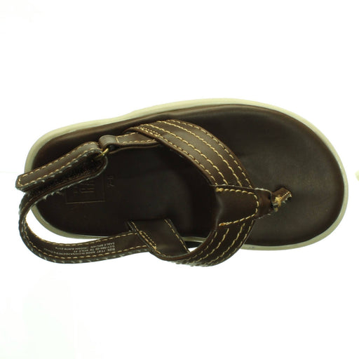 BABY BOYS BROWN SANDALS (Size 7-8) - Cibigi