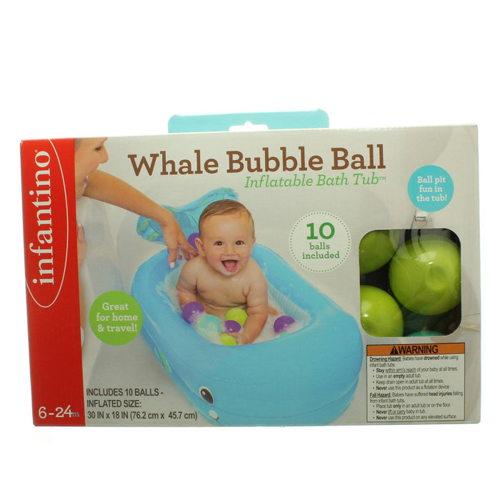 INFANTINO WHALE BUBBLE BALL