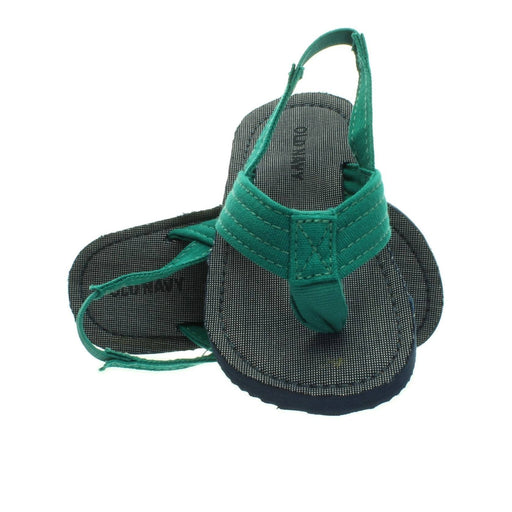 BOYS GREEN-NAVY SANDALS - Cibigi