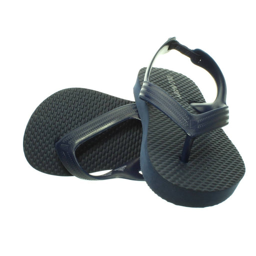 BABY BOY NAVY BLUE SANDALS (size 6) - Cibigi