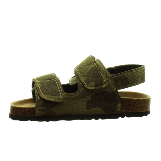 BOYS CAMOUFLAGE SANDALS