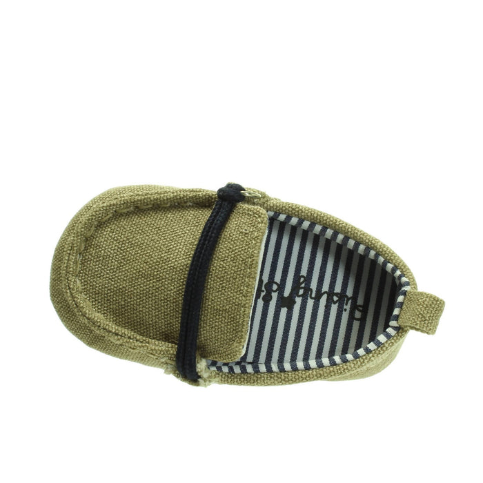 BABY BOY KHAKI SHOES - Cibigi