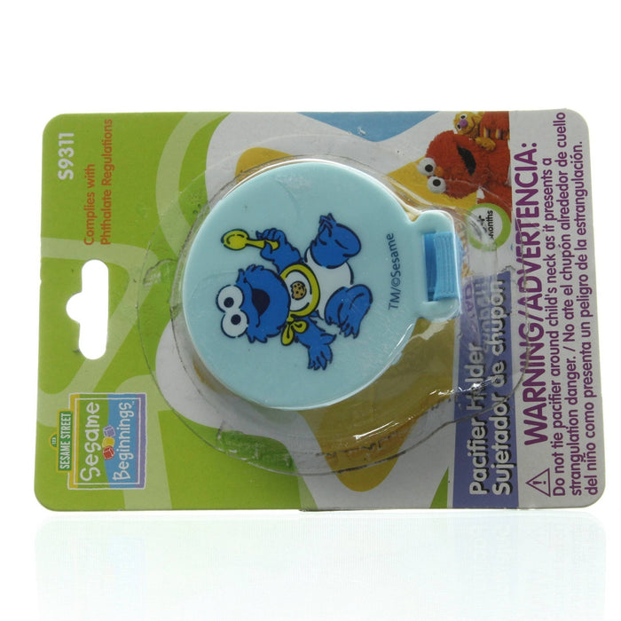SESAME STREET Sesame Beginnings Pacifier Holder (Blue)