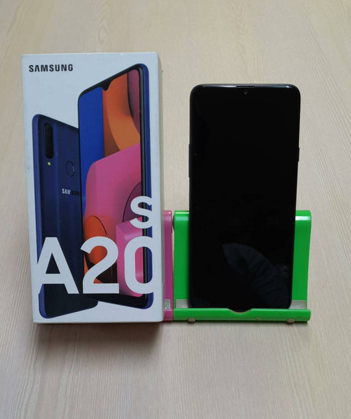 Samsung A20s SM-A207F, 4G LTE GSM, Snapdragon 450, 13.0 MP + 8.0 MP + 5.0 MP + 8 MP Front Camera, 32GB