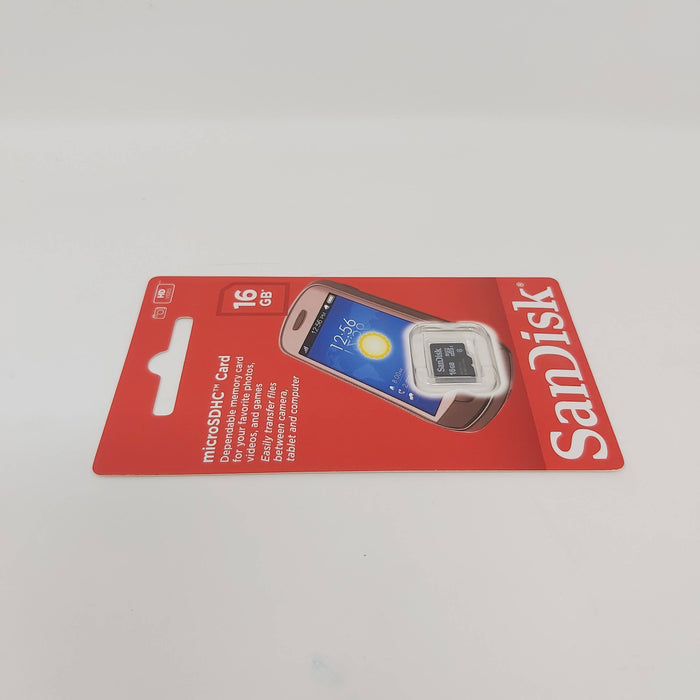 16 GB Micro SD/HC Card