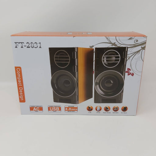 High Quality Wooden USB Speakers