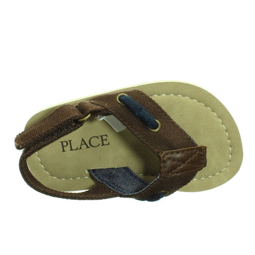 BABY DARK BROWN SANDALS (Size 4-5) - Cibigi