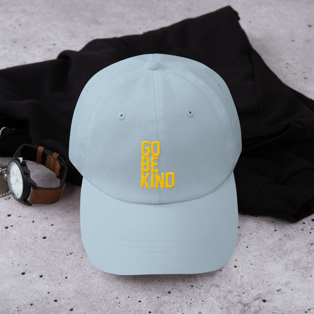 da967c09a Go Be Kind Dad Hat by Leon Logothetis – Athletes Brand VIP