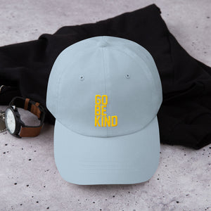 Go Be Kind Dad Hat by Leon Logothetis