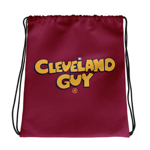 Cleveland Guy Drawstring Bag