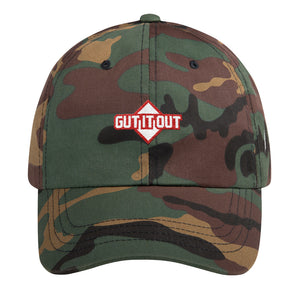 Gut it Out Dad Hat by Jake Diekman