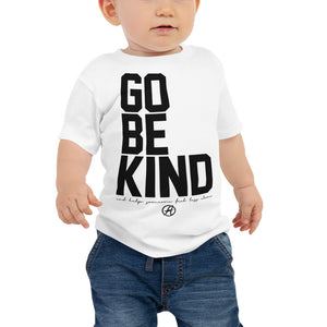 Go Be Kind (BABY) T by Leon Logothetis