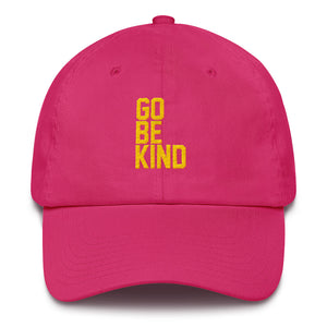 Go Be Kind Hat by Leon Logothetis