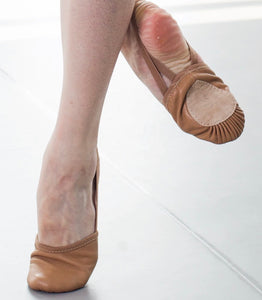 turning shoe - dance beige