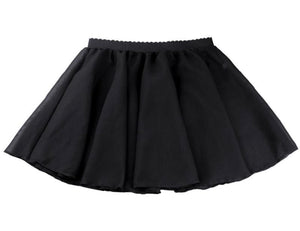 chiffon pull on dance skirt