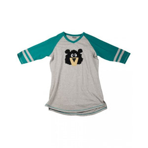 Lazy one sporty bear adult pj top