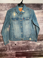Levi's vintage fade trucker denim jacket