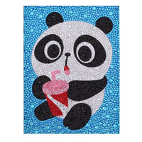 15 x 20 diamond painting (rhinestone) -  panda AT027