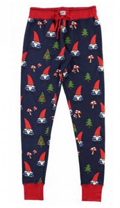 Lazy one no place like gnome adult pj legging