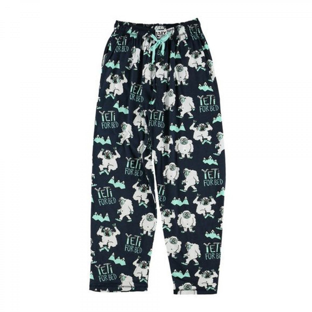 Lazy One - Yeti for bed unisex pj pants