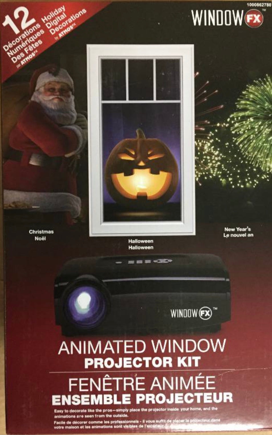 Window FX window projector