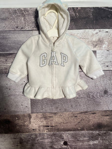 girls cream Gap size 3/6 months gently used