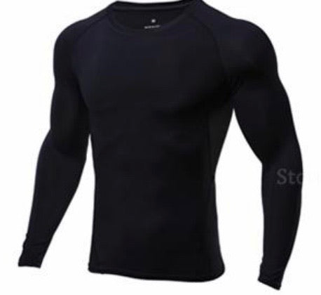 boys dry fit long sleeve tee