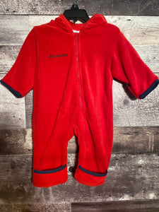 Columbia fuzzy sleeper/outfit size 6 months gently used