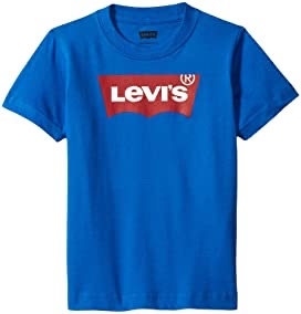 LEVIS nile blue snow yarn graphic tee