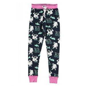 lazy one - yeti for bed pj pants adult