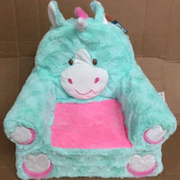 Sweat seats - teal unicorn