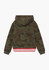 Levi's olive night camo long sleeve hoody