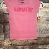 levis s/s knit top cyclamen