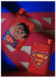 11 x 19 diamond painting water bottle - super hero SH004